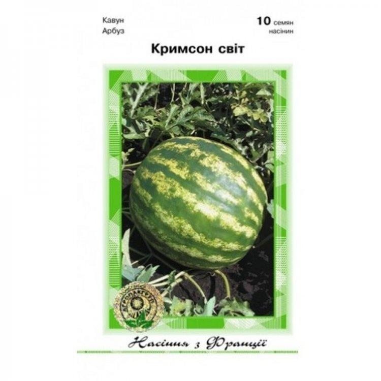 Семена арбуза Кримсон Свит, ультраранний, Clause, Франция 10 шт.