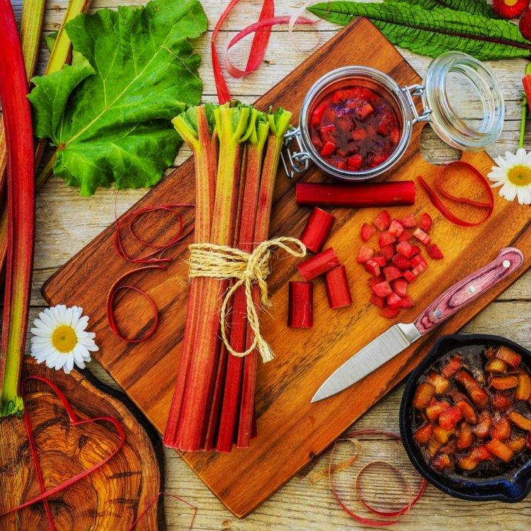 Ревень Красный, семена, 0,5 гр, Украина