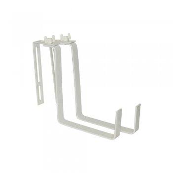 Крючки для крепления балконных ящиков, цвет белый  Greenmill  (GR5070B)