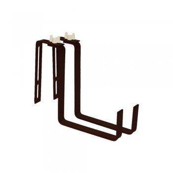 Крючки для крепления балконных ящиков, цвет темно-коричневый  Greenmill  (GR5070R)