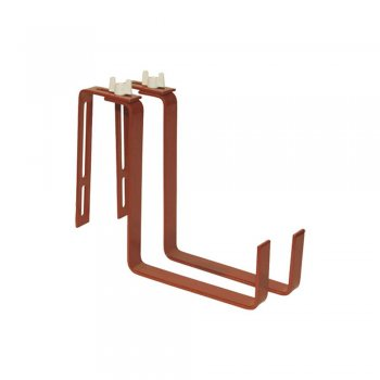 Крючки для крепления балконных ящиков, цвет светло-коричневый  Greenmill  (GR5070T)