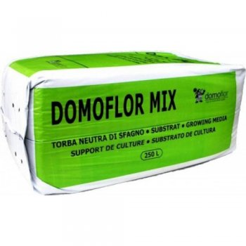 Торфой субстрат Domoflor Mix 3, 250 литров, Литва