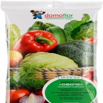 Торф для овощей Домофлор, 8 литров, Литва