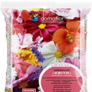 Торф для цветов Домофлор, 8 литров, Литва