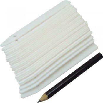 Этикетки Greenmill Classic пластмассовые с карандашом 25 шт (GR5021)