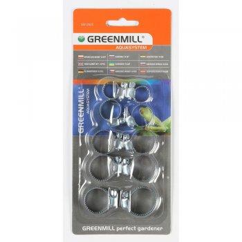 Набор зажимов для шланга (10 шт) Greenmill  (GB1202C) Польша