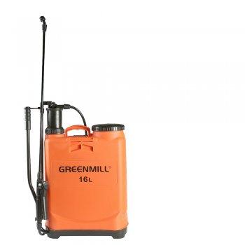 Опрыскиватель ручной Greenmill Aquasystem ранцевый 16 л (GB9160)